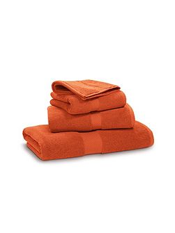 Avenue orange hand towel