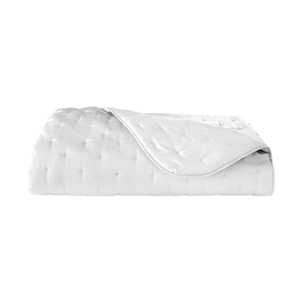 Yves Delorme Triomphe blanc king bed cover