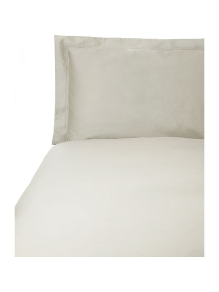 Yves Delorme Triomphe pierre double fitted sheet