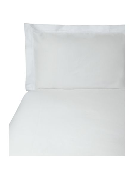 Yves Delorme Triomphe blanc double flat sheet