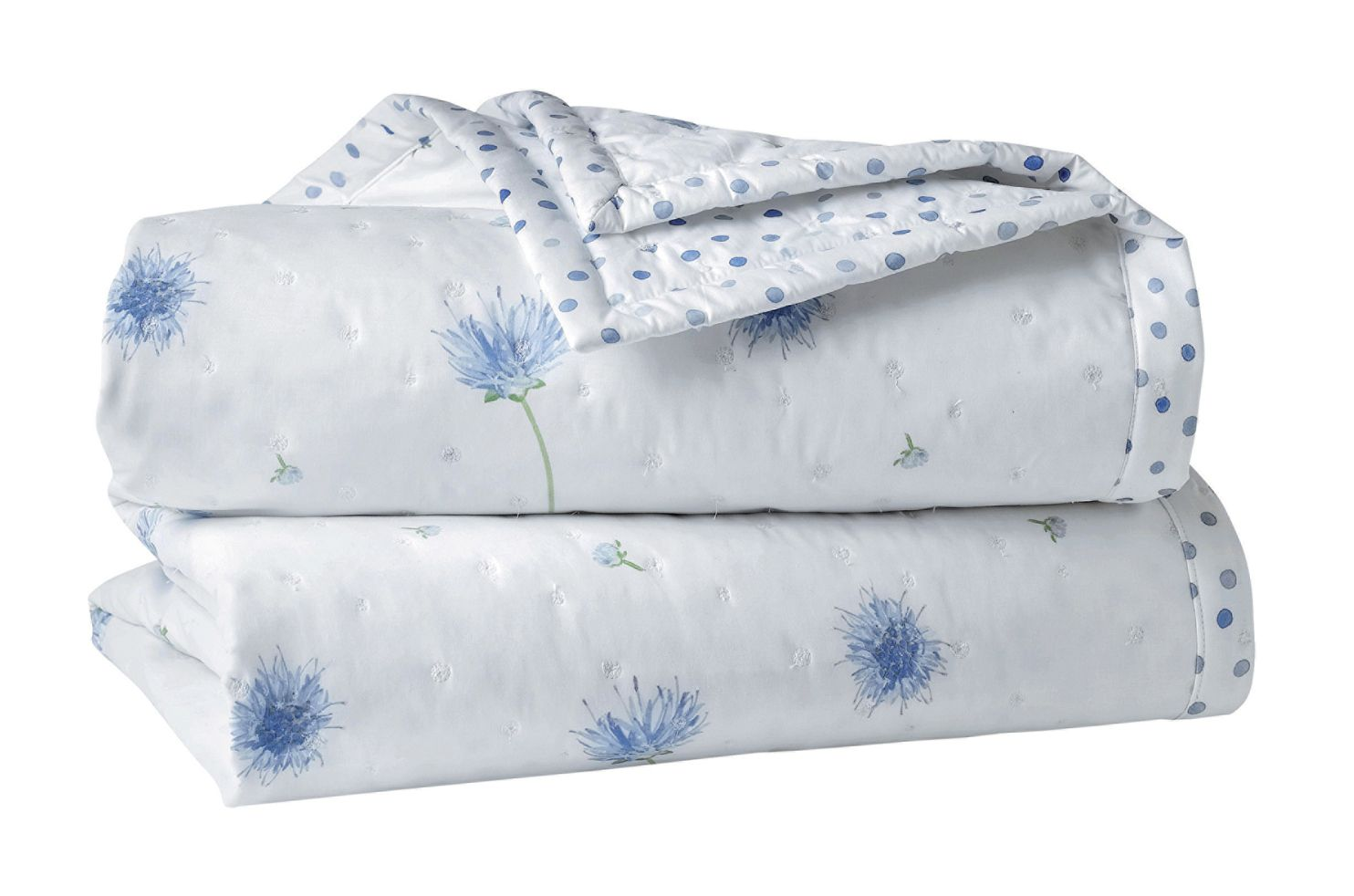 Eveil bed cover in bleu