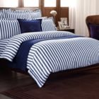 Ralph Lauren Home Club Stripe bedding range in navy