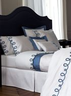 Yves Delorme Italics baltic bed linen