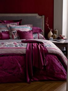 Impress rubino bed linen