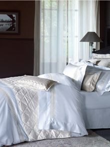 Yves delorme laurier bed linen in white