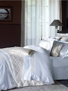 Yves Delorme Yves delorme laurier bed linen in white