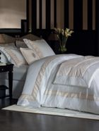 Yves Delorme Yvew Delorme forum bed linen in white