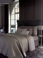 Yves Delorme Points cafe creme bed linen