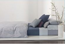 Calvin Klein Winter branches frost double flat sheet