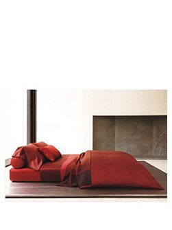 Linear2 cinnabar standard pillowcase