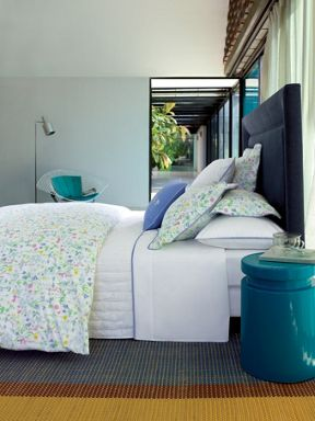 Yves Delorme Beaucoup blanc bed linen