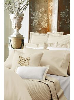 Langdon cream super king duvet cover