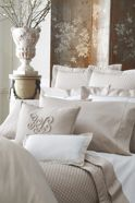 Ralph Lauren Home Landgon bedding range in Silver