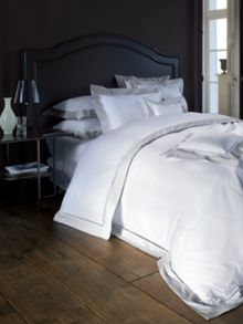 Yves Delorme Walton silver pillowcase king