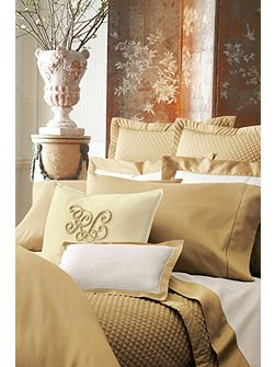 Langdon bronze double duvet cover