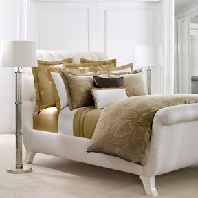Ralph Lauren Home Doncaster bedding range in Bronze