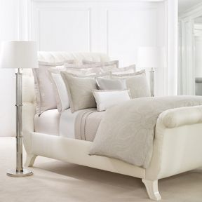 Ralph Lauren Home Doncaster bedding range in Silver