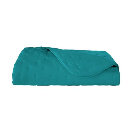 Yves Delorme Triomphe Peacock double bed cover