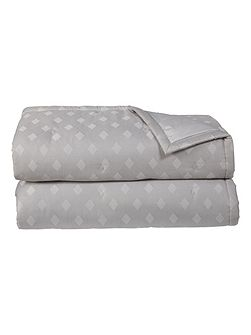 Prisme Blanc double bed cover
