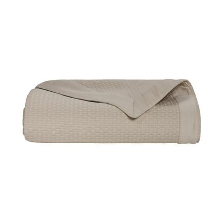 Yves Delorme Morphee Pierre king bed cover
