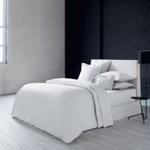 Olivier Desforges Alcove blanc fitted sheet 140x190