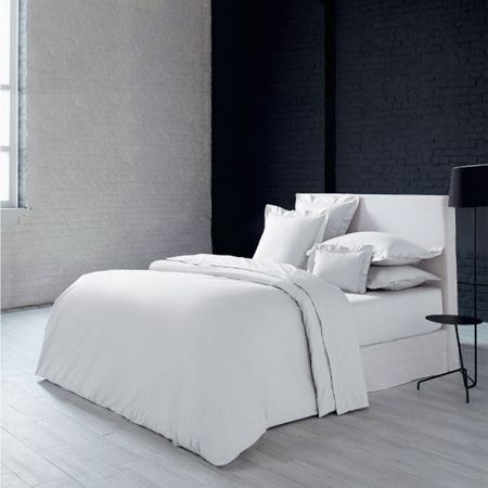 Olivier Desforges Alcove blanc fitted sheet 180x200