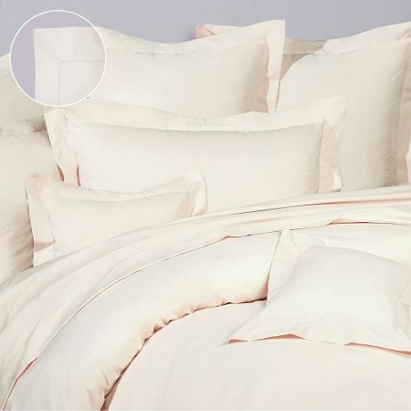Olivier Desforges Alcove ivoire fitted sheet 160x200