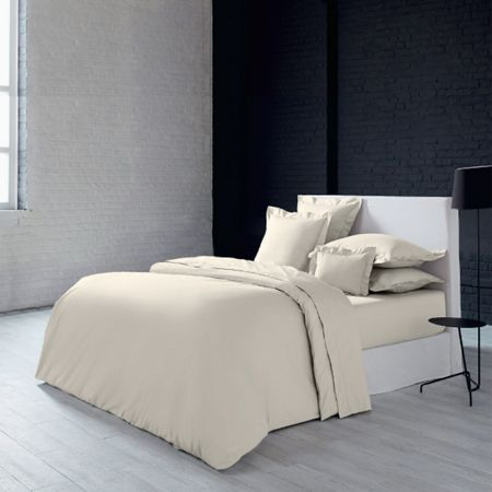 Olivier Desforges Alcove ivoire fitted sheet 140x190