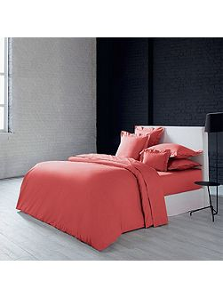Alcove rouge fitted sheet 160x200