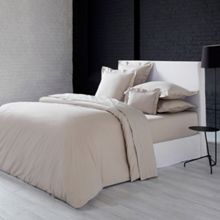 Olivier Desforges Alcove perle fitted sheet 140x190