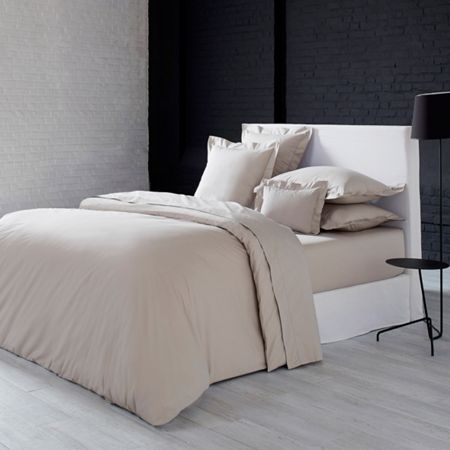Olivier Desforges Alcove perle fitted sheet 180x200
