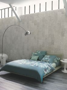 Peony grey king flat sheet 270x310