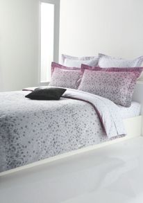Blossom pink king flat sheet 270x310
