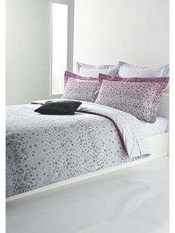 Blossom pink single fitted sheet 90x190