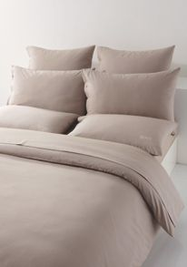 Plain honey double flat sheet 240x310