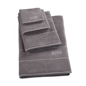 Hugo Boss Plain Concrete 100% Egyptian Cotton Twis