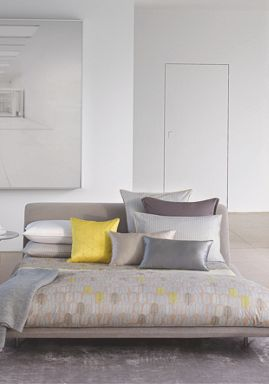 Hugo Boss Nest bedlinen in Grey