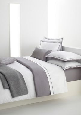 Hugo Boss Hugo Boss totem bedlinen in white