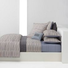 Hugo Boss Bluesong bedlinen range in taupe