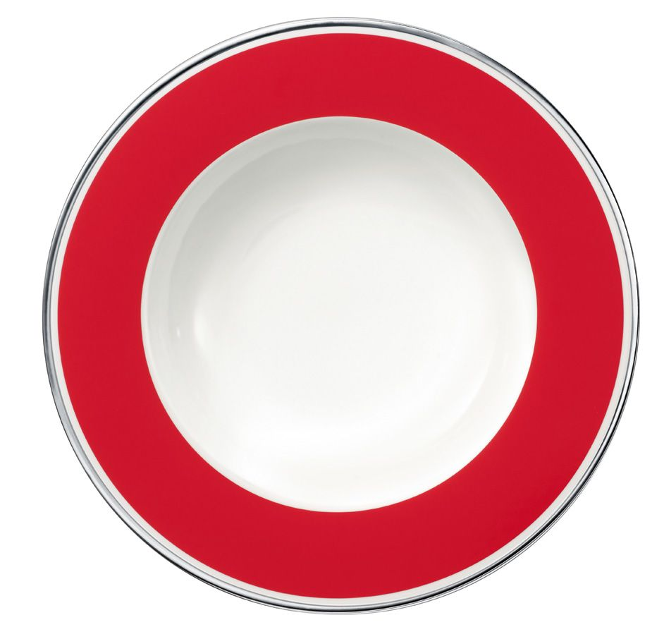 Anmut red cherry dinnerware range