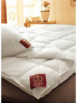 Pearl Hungarian goose down king medium-warm duvet