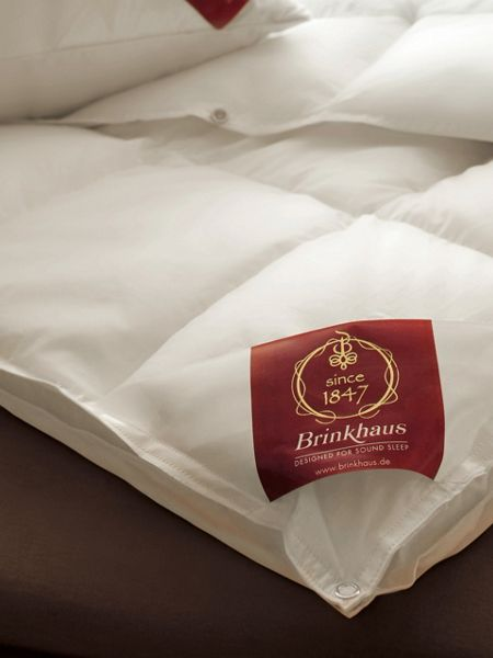 Brinkhaus Gem Hungarian goose down king warm duvet