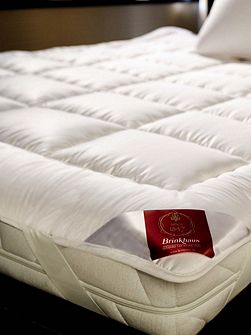 Exquisit wool double mattress topper
