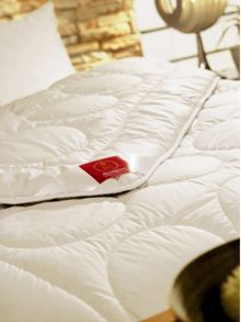 Mandarin silk summerlight duvets