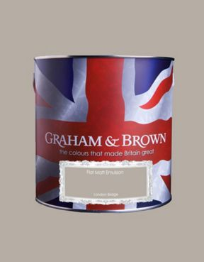 Graham & Brown Matt emulsion london bridge paint