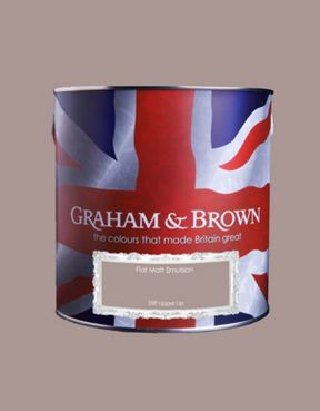 Graham & Brown Matt emulsion stiff upper lip paint
