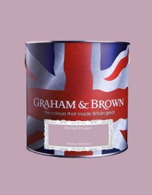 Graham & Brown Matt emulsion flower of scotland paint