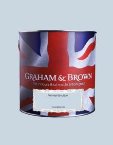 Graham & Brown Matt emulsion cool britannia paint