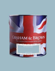 Graham & Brown Matt emulsion rules the waves paint