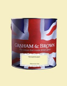 Graham & Brown Matt emulsion midsummers day paint